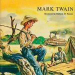 Adventures of Huckleberry Finn book cover