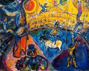 Circus Horse (1964) - Marc Chagall