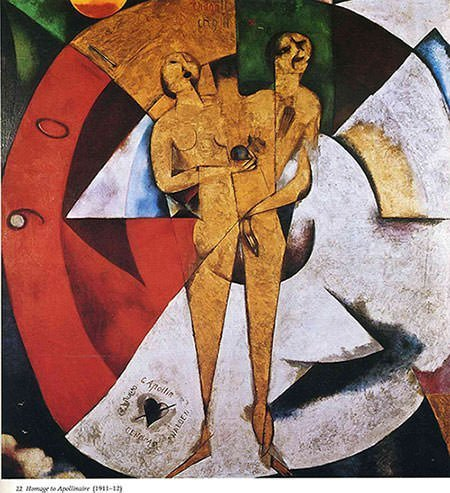Homage to Apollinaire (1912) - Marc Chagall