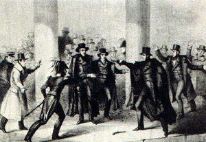 Jackson Assassination Attempt depiction