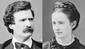 Mark Twain and Olivia Langdon