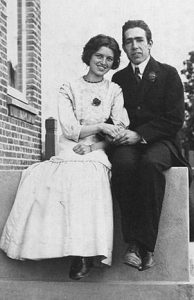 Niels Bohr and his wife Margrethe Norlund