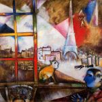 Paris Through the Window (1913) - Marc Chagall