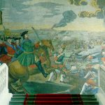Peter the Great at the Battle of Poltava