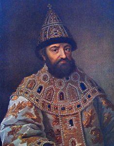 Portrait of Michael I Romanov