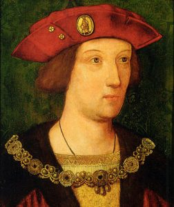 Portrait of Arthur, Prince of Wales