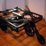 Model of Leonardo's self-propelled cart