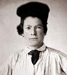 Samuel Langhorne Clemens in 1850