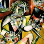 Self Portrait with Seven Fingers (1913) - Marc Chagall