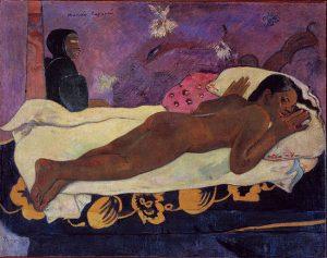 Spirit of the Dead Watching (1892) - Paul Gauguin