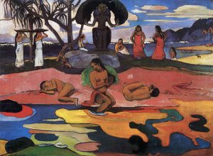 The Day of the God (1894) - Paul Gauguin