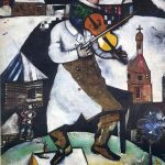 The Fiddler (1913) - Marc Chagall