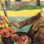 The Painter of Sunflowers (1888) - Paul Gauguin