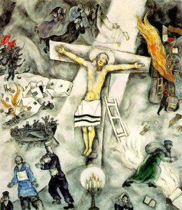 White Crucifixion (1938) - Marc Chagall