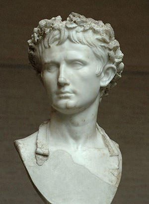 Bust of Augustus in Glyptothek