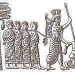 Cambyses II capturing Egypt pharaoh