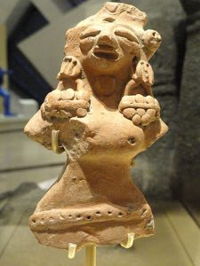 Female statue from Indus Valley Civilization