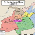 Warring States Period map