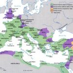 Map of the Roman Empire under Augustus