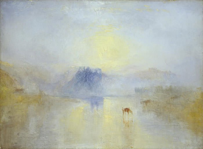 Norham Castle, Sunrise (1845) - J.M.W. Turner