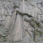 Sir Francis Drake knighted by Queen Elizabeth I