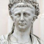 Bust of Roman Emperor Claudius