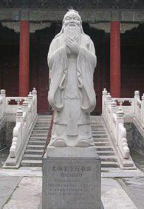 Statue of Confucius in Beijing