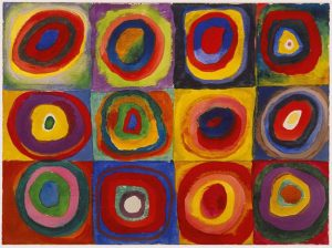 Concentric Circles (1913) - Wassily Kandinsky