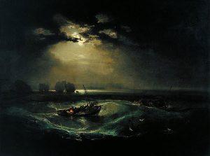Fishermen at Sea (1796) - J.M.W. Turner