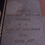 Grave of J. M. W. Turner
