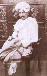 Mahatma Gandhi in 1918