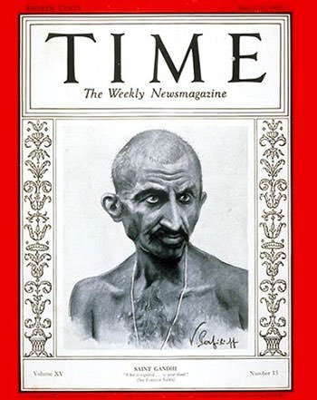 Mahatma Gandhi on TIME Magazine