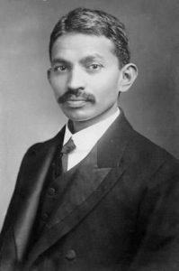 Mohandas K Gandhi in 1906