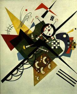 On White II (1923) - Kandinsky Wassily