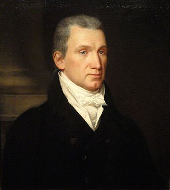 Portrait of James Monroe