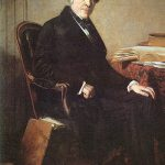 Portrait of Jules Michelet