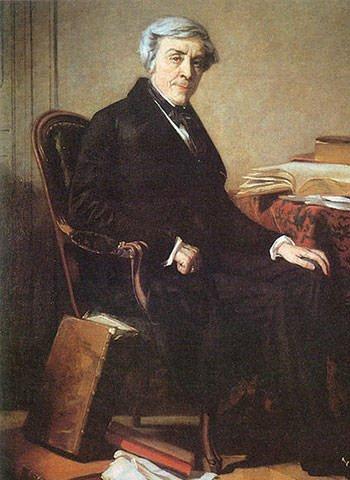 Portrait of Jules Michelet