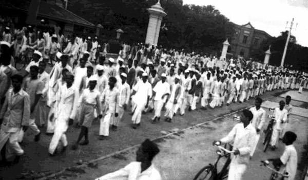 Quit India Movement Procession