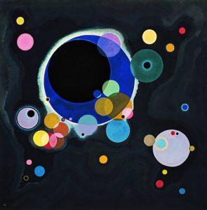 Several Circles (1926) - Wassily Kandinsky