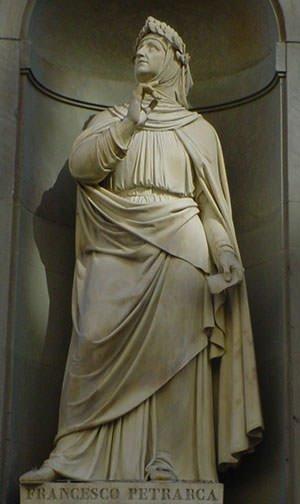 Statue of Petrarch