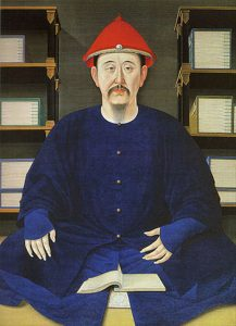 1699 portrait of Kangxi Emperor