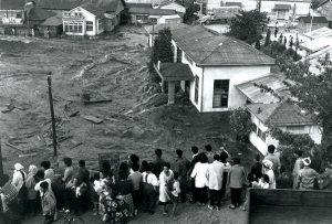 Valdivia earthquake tsunami in Japan