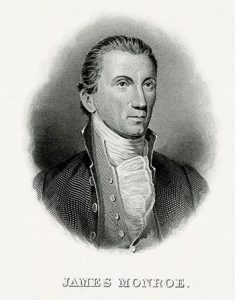 Portrait of James Monroe as President