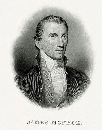 1819 Portrait of James Monroe
