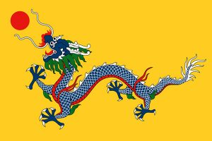 Flag of Qing dynasty