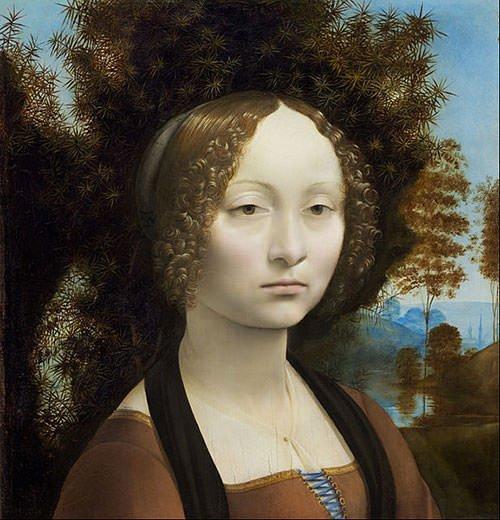 Ginevra de' Benci (1478) - Leonardo da Vinci