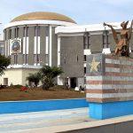 Liberian Capitol Building in Monrovia