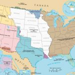 Map of territorial expansion of United States