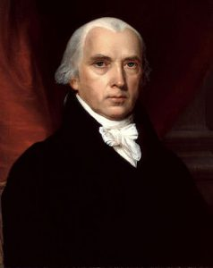 Portrait of President James Madison