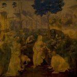 The Adoration of the Magi (1481) - Leonardo da Vinci